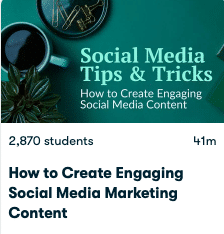 How to create engaging social media marketing content