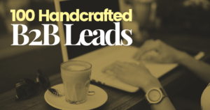 100-Handcrafted--B2B-Leads