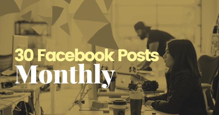 30 Facebook Posts