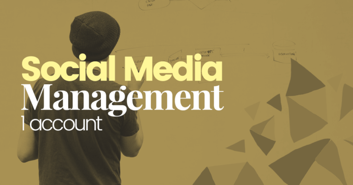 Social-media-management-1-account