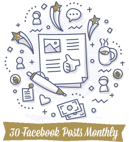30-Facebook-Posts-Monthly-Doodle