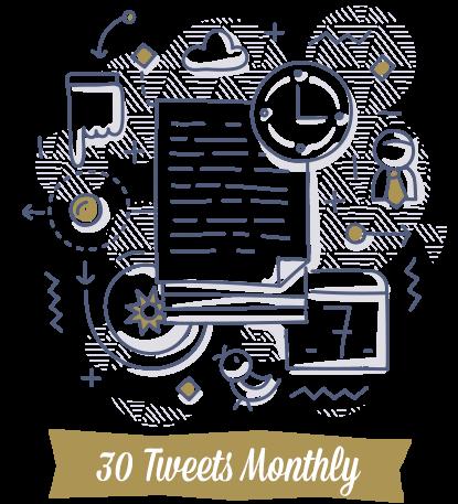 30-Tweets-Monthly-Doodle