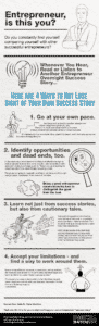 """Entrepreneur """"success stories"""" - and why only yours matters"""